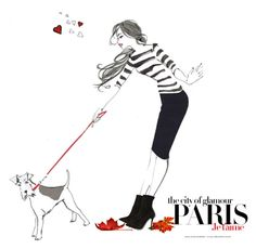 """Paris, je t'aime"" by a-82 ❤ liked on Polyvore featuring art"