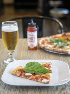 Enjoy our local craft beer on draft with a slice of Hell Boy Pizza!