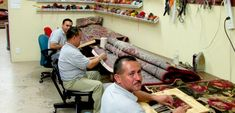 We are are the masters of #Handmade_Persian_Rugs_Repair