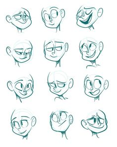 Drawing Cartoon Characters Animation Sketches Best Ideas, Drawing C.You can find Animation and more on our . Cartoon Faces Expressions, Drawing Face Expressions, Drawing Cartoon Characters, Cartoon Art Styles, Character Drawing, Drawing Faces, Animation Character, Cartoon Expression, Drawing Cartoon People
