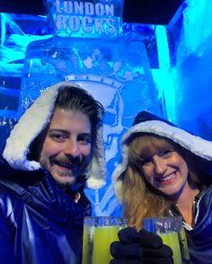 Hitting up @icebarlondon with my awesome fiancée @imapriljoy_ #icebarlondon #icebar #nightlife #london