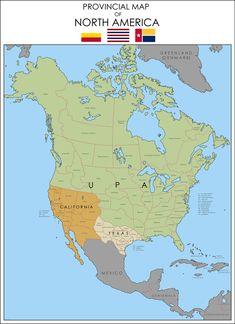 Fantasy Map Generator, Imaginary Maps, Alternate History, Fictional World, Fantasy Setting, Still Image, North America, Day, Historia