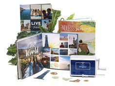 3 lucky winners will win Mixbook photo books AND their very own Prizm Die Cutting & Embossing Machine with special travel-themed etched dies for summer. Are you ready to upgrade your photo books? Enter by July 21st!