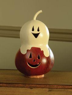 Miniature - Casper Jack   - Meadowbrooke Gourds