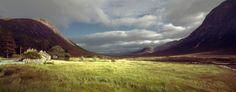 Glen Coe Scotland Schottland Tal schönstes