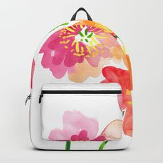Buy Dancing Poppies Backpack by susanbrand. Worldwide shipping available at Society6.com. Just one of millions of high quality products available.