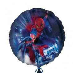Spiderman Action 18 Foil Balloon Superhero Birthday Party ** Want additional info? Click on the image.