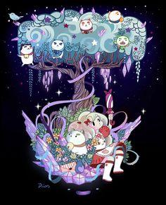 http://diasartwork.blogspot.com.br/2014/01/bee-and-puppycat-design-contest.html Bravest Warriors, Kawaii Drawings, Web Series, Magical Girl, Marshmallow, Anime Stuff, Sword, Random Things, Anime Art