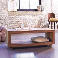 Table basse en teck 110x45 Anoa