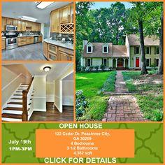 Open House Georgia House For Sale