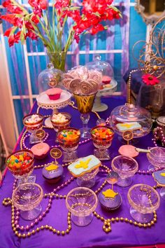 Zia's Arabian Nights Themed Party – Desserts
