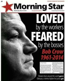 Morning Star front page Morning Star, Working Class, Socialism, Peace, Stars, Sterne, Sobriety, Star, World