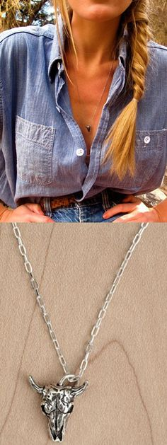 Love this Southwest inspired necklace
