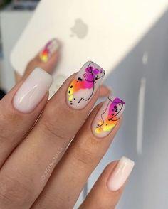 Cute Gel Nails, Chic Nails, Les Nails, Nail Trends, Pedicure, Nailart, Nail Designs, Projects, Beauty