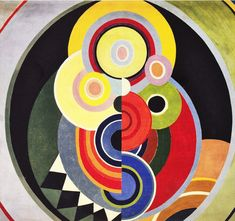 Rhythm, mural painting for the 15th Salon des Tuileries by Sonia Delaunay (1938)