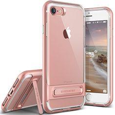VRS Design, iPhone 7 Hülle [Crystal Bumper][Rosa Gold]…