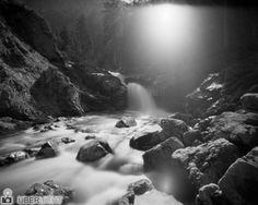 Harman Titan Ilford Pinhole Camera Streambed Mountain Torrent Sheet Film Analogue