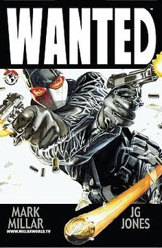 Wanted might be my favorite comic book of all time.  In Wanted, a young intern named Wesley Gibson discovers his father was a supervillain known as The Killer and that he has inherited his abilities and vast fortune on one condition: he becomes a villain as his father was.  This comic pulls no punches and dives into the psychology of what a person will do if they are given everything they want and told their actions hold no consequences.  As a bonus, it also features a character called…