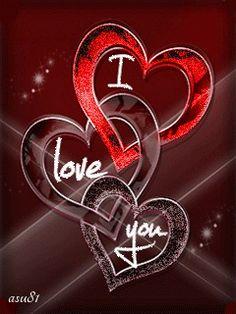 Download I love you Mobile Screensavers - 4395869 - animated love heart cute hug…