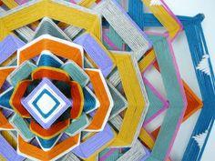 DIY Yarn Mandalas : mandala art