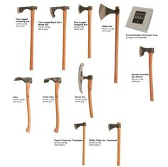 Choosing and using an axe for bushcraft WePrepper - SHTF weapons Bushcraft Axe, Bushcraft Camping, Axe Handle, Knife Patterns, Viking Axe, Homemade Weapons, Beil, Battle Axe, Blacksmith Projects