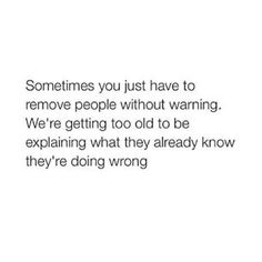 Getting too old to be explaining what they already know...