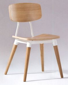White oak dining chair. Free Shipping!