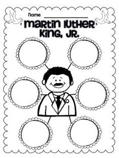 These are a couple of freebies from my MLK Jr Unit. Enjoy!  Check out my Martin Luther King Jr Unit Here