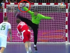Hungary's Handball Team. Perhaps the most thrilling team game in the whole Olympics. Iceland were one goal up in normal time and were awarded a penalty 12 seconds from the end. But the Hungarian goalkeeper saved it and Hungary went on to score with two seconds left to level the match, before going on to win after double-extra time.