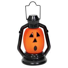 LED Pumpkin Lantern - At Home