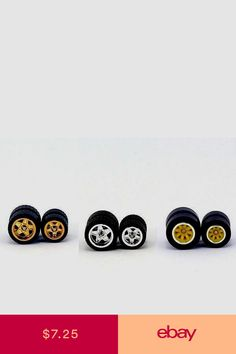 Hot Wheels Scale Model Rubber Tires for Custom Muscle Car Size 10 & 12 Custom Muscle Cars, Rubber Tires, Scale Models, Hot Wheels, Hobbies, Toys, Diecast, Ebay, Contemporary