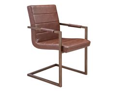 """I like this one in the """"Vintage Cognac"""" color - JAFAR ARMCHAIR"""