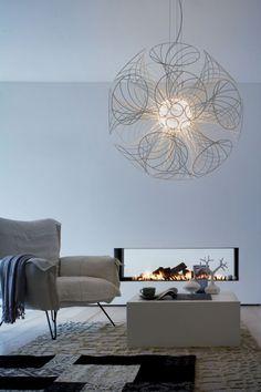 Danish architect Brian Rasmussen has designed the Vita lamp for Lucente