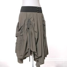 Bohemian Adjustable Bustle Maxi Skirt with by MiloCreativeStudios, $158.00