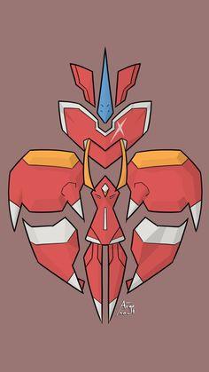 Red Strelizia #Franxx