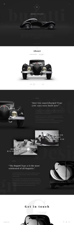The project was created as a tribute to classic cars we all love for their ellegance and powerfull and timeless design that had laid a cornerstone for most of contemporary car designs.