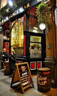 Dublin pub.. Ireland (by Claire Tardy) - Here she is again.