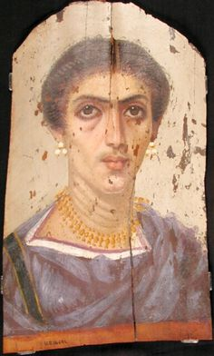 Mummy Portrait UC14692 -The Petrie Museum of Egyptian Archaeology, London.