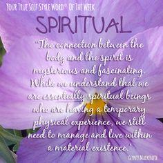 TSSW Week 11: Spiritual