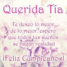 Happy Birthday Tia, Birthday Fun, Birthday Images, Birthday Quotes, Birthday Breakfast, Happy B Day, Birthday Greetings, Birthdays, Tweety