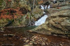Cunningham Falls is in Maryland's Catoctic Mountain Park, a few miles from the Presidential retreat at Camp David.