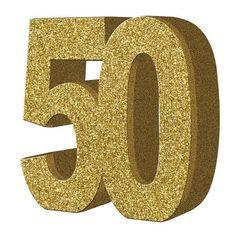 Me encanta este Centro de Mesa Purpurina Número 50 http://www.airedefiesta.com/8770-centro-de-mesa-purpurina-numero-50.html