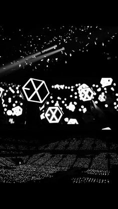 We are one exo Baekhyun, Lightstick Exo, Kpop Exo, Park Chanyeol, Exo Kai, Taemin, L Wallpaper, Exo Silver Ocean Wallpaper, Exo Album