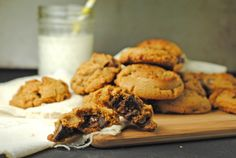 #Gluten-Free Peanut Butter Chocolate Chip Cookies from @Jen @ Juanita's Cocina