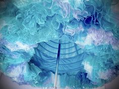 Cinderella When life gives you fabric, make two miles of watercolor ruffles! Cinderella Cosplay, Cinderella Outfit, Cinderella 2015, Disney Cosplay, Disney Costumes, Movie Costumes, Cinderella Princess, Lace Flower Girls, Lace Flowers