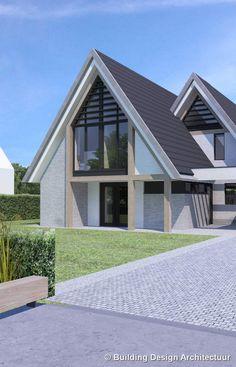 ideas for home architecture design buildings Entrance Design, House Entrance, Home Building Design, Building A House, Style At Home, Garden Architecture, Architecture Design, Dream Home Design, House Design