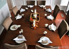 thanksgiving tablescape @cleverlyinspired