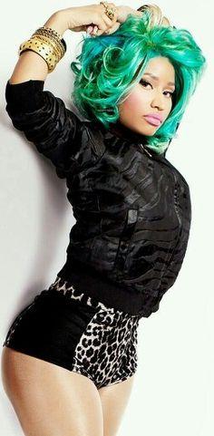 Nicki minaj all black style