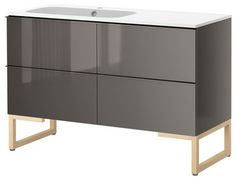 GODMORGON/NORRVIKEN Sink cabinet with 4 drawers - modern - bathroom vanities and sink consoles - - by IKEA