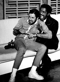 Sammy Davis Jr. and Jerry Lewis / AS1966